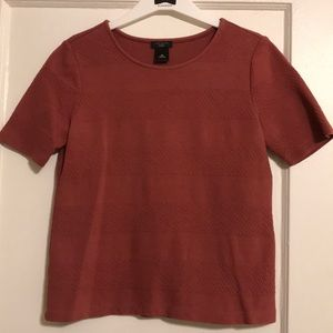 ANN TAYLOR - Pink short sleeve top!